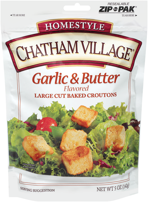 LargeCutGarlicButter - Chatham Village Large Cut Garlic & Butter Croutons