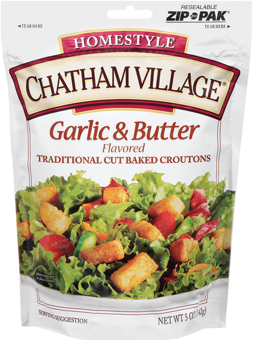 TraditionalGarlicAndButter - Chatham Village Garlic & Butter Flavored Croutons